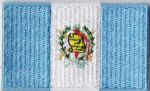 Guatemala Embroidered Flag Patch, style 04